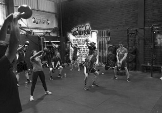 CrossFit C2F gym floor