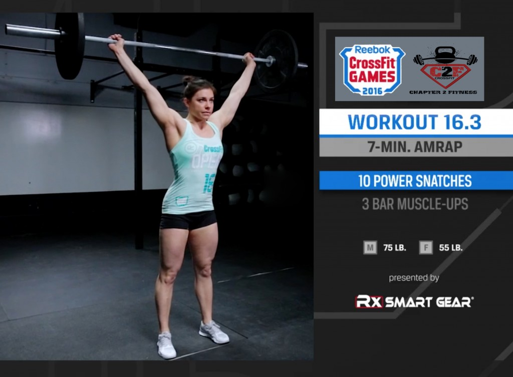 16.3 CrossFit Open Tips 2016