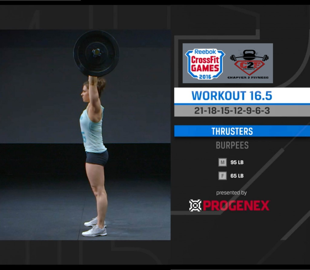 16.5 CrossFit Open Tips